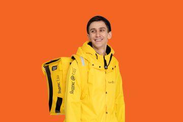 Рекламная акция Яндекс.Еда и Mastercard «Удвоение чаевых при оплате Mastercard»
